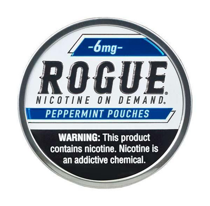 Rogue Nicotine Pouches - Peppermint - 6mg - 20 Pouches