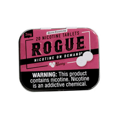 Rogue Nicotine Tablets - Berry - 2mg