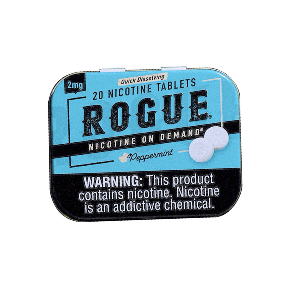 Rogue Nicotine Tablets - Peppermint - 4mg