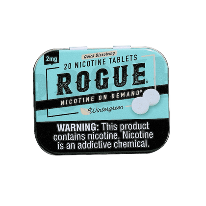 Rogue Nicotine Tablets - Wintergreen - 2mg