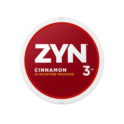ZYN Nicotine Pouches - Cinnamon - 3mg - 15 Pouches