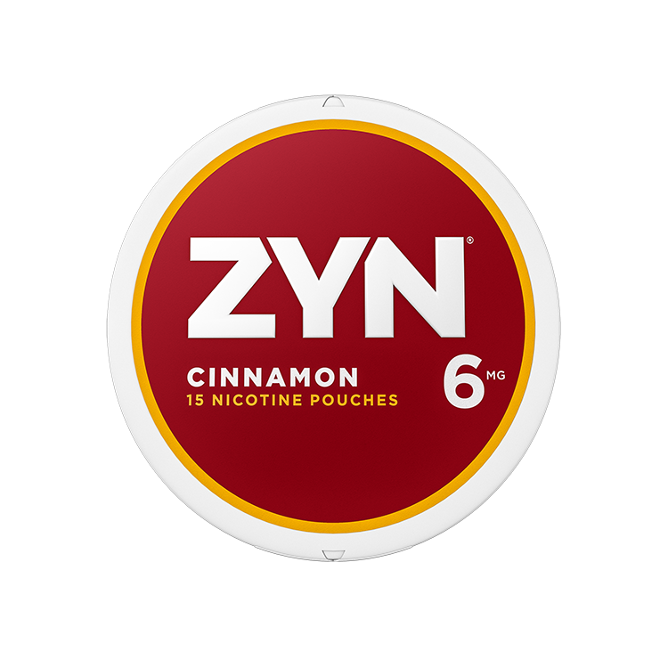 ZYN Nicotine Pouches - Cinnamon - 6mg - 15 Pouches