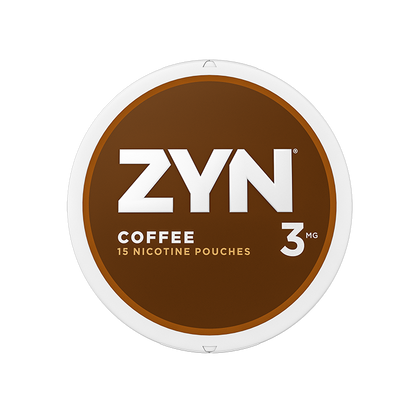 ZYN Nicotine Pouches - Coffee - 3mg - 15 Pouches