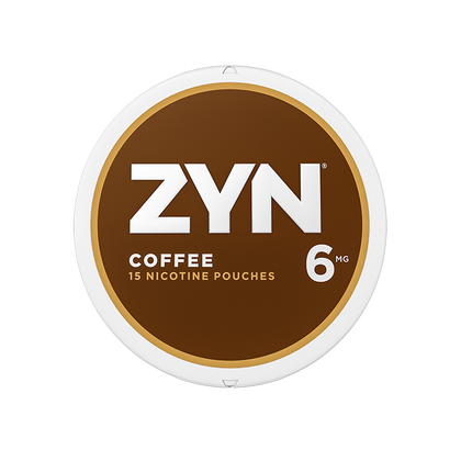 ZYN Nicotine Pouches - Coffee - 6mg - 15 Pouches