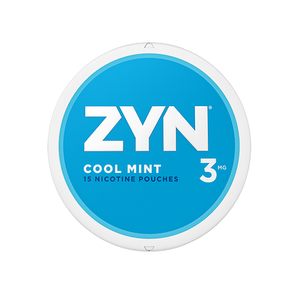 ZYN Nicotine Pouches - Cool Mint - 3mg - 15 Pouches