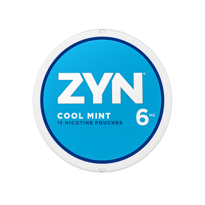 ZYN Nicotine Pouches - Cool Mint - 6mg - 15 Pouches