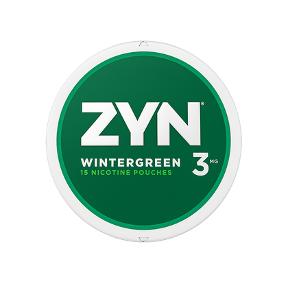 ZYN Nicotine Pouches - Wintergreen - 3mg - 15 Pouches