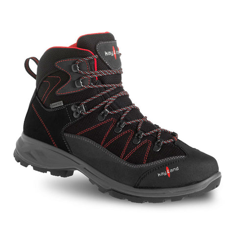 ASCENT EVO GTX BLACK RED - SCARPONCINO DA TREKKING