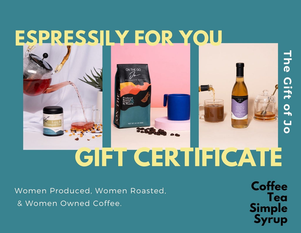 On The Go Jo Gift Certificate