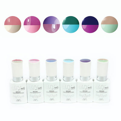 In The Night - Set Of 6 Mood Gel Colors
