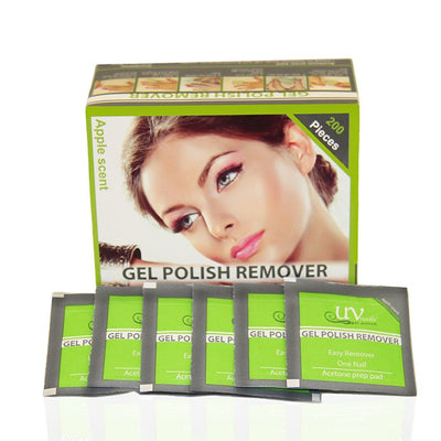 Apple - Lacquer & Gel Remover pads.