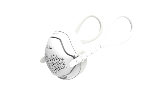 o2 Flow Electrical Air Purifier Mask with HEPA and Carbon Filter