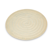 Load image into Gallery viewer, Menotti - Cream Enamel & Metal Plate