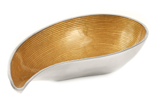 Load image into Gallery viewer, Brayfield - Gold Enamel & Metal Fruit Bowl