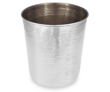 Load image into Gallery viewer, Hammersmith - Hammered Metal Waste Bin