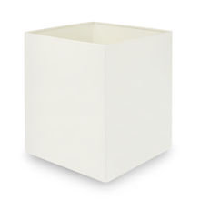 Load image into Gallery viewer, Agar Grove - White Metal Waste Bin
