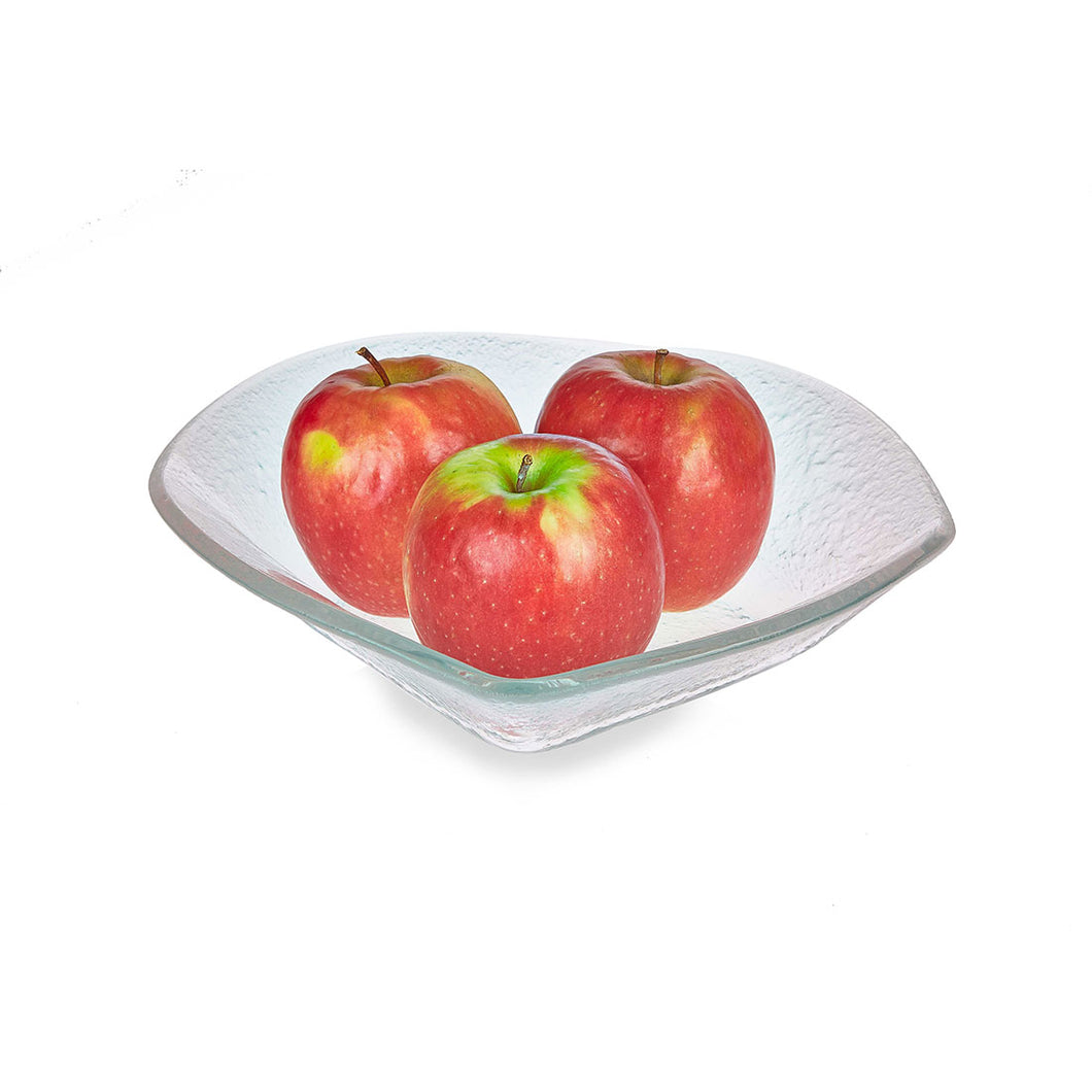 Mora - Frosted Glass Fruit Bowl