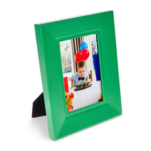 Load image into Gallery viewer, Trafalgar Square  - Green Faux Leather photo frame