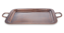 Load image into Gallery viewer, Finsbury - Square Antique Copper Serving Tray