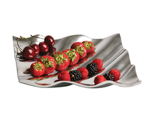 Load image into Gallery viewer, Gloucester - Rippled Metal Fruit Tray