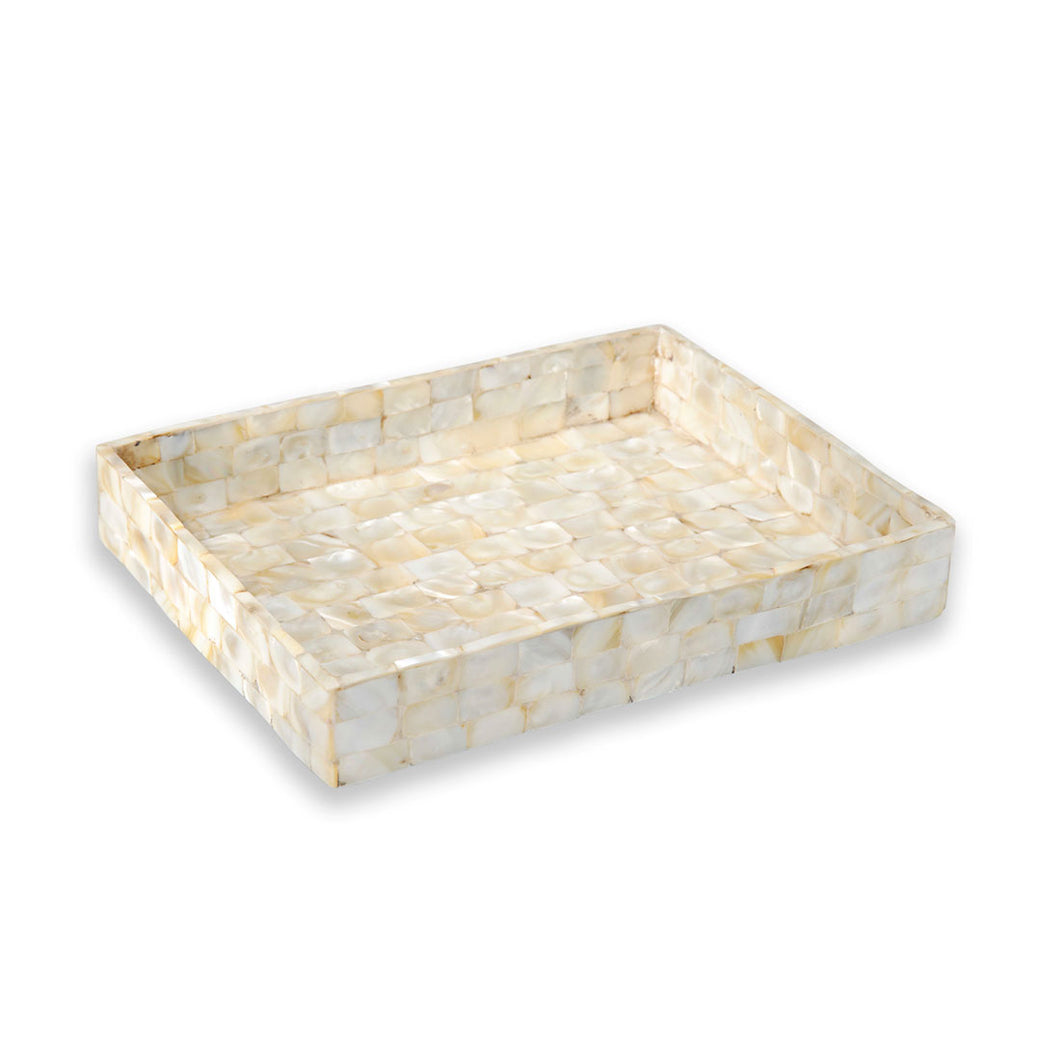 Elizabeth - Small Mother Of Pearl Display Tray