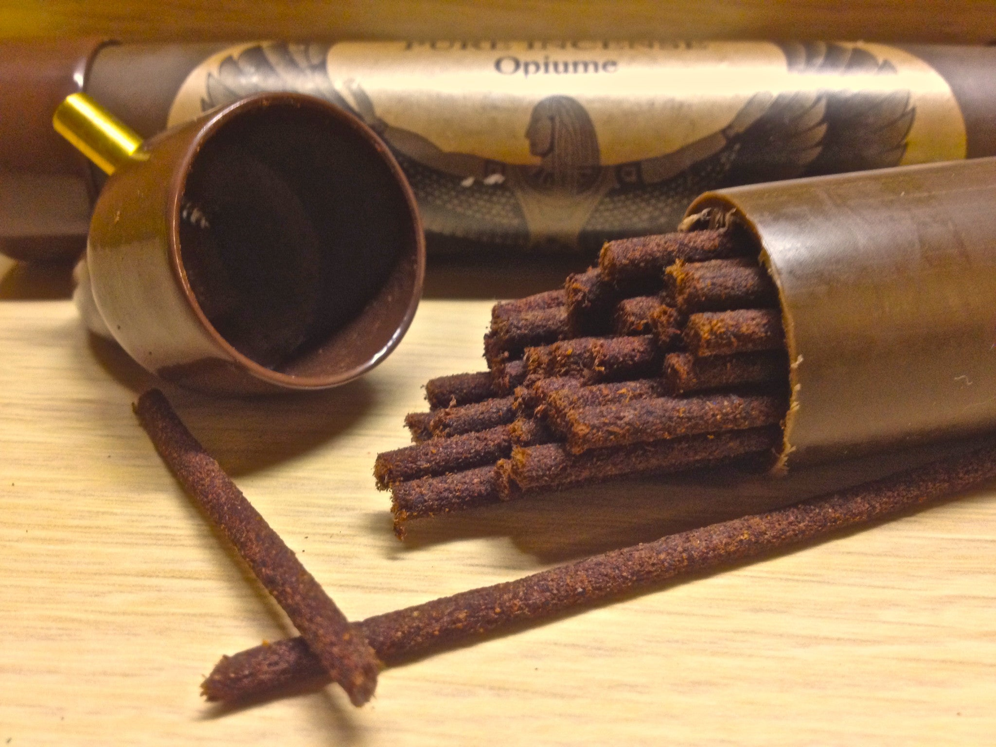 "Premium ""Coreless"" Stick Incense (Amber thru Green Tea)"