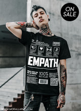 Load image into Gallery viewer, Empath - Ingredients | Morall Army | Short-Sleeve Unisex T-Shirt