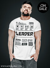 Load image into Gallery viewer, Leader | Morall Army | Short-Sleeve Unisex T-Shirt
