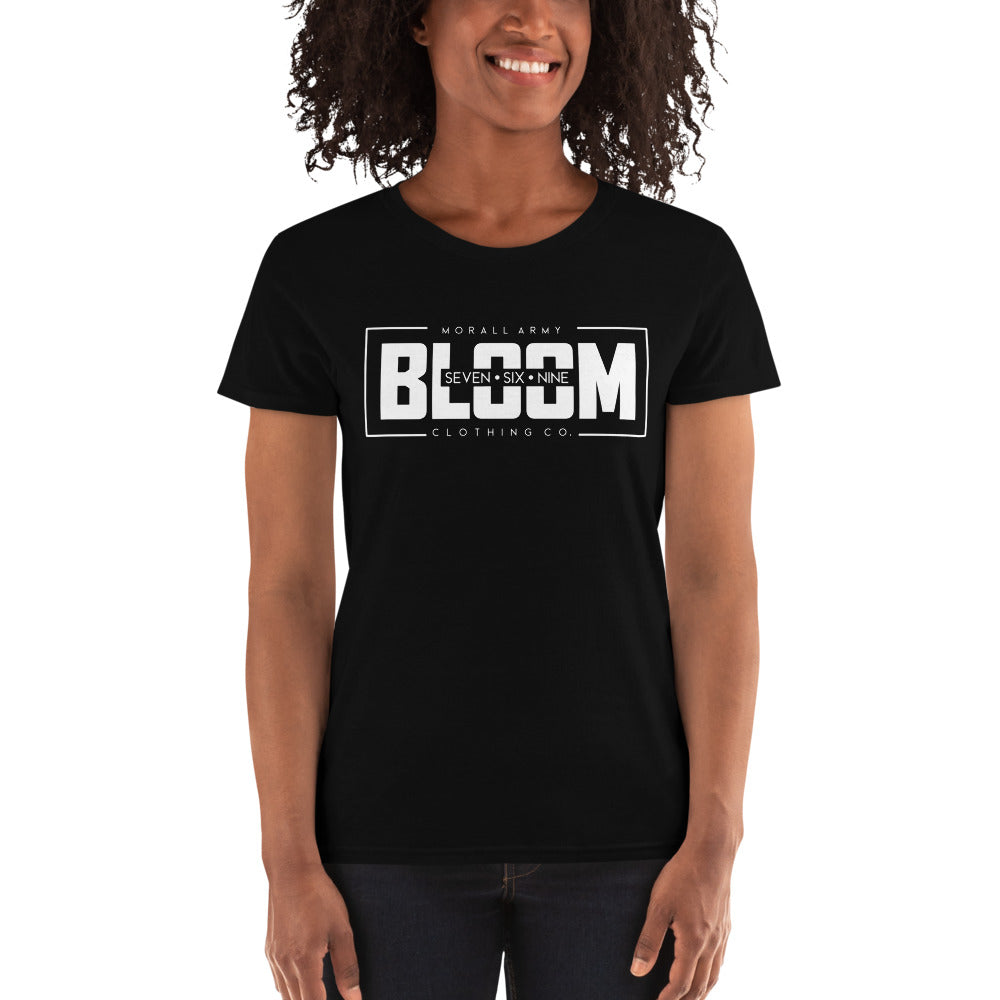Bloom - Seven Six Nine | Morall Army | Women's short sleeve t-shirt