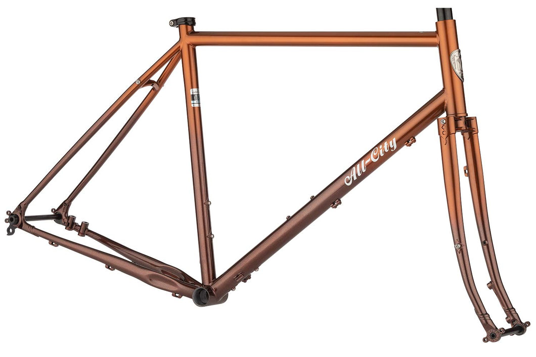 All-City Gorilla Monsoon Frameset - Root Beer Keg