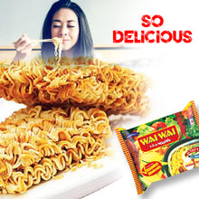 Load image into Gallery viewer, Wai Wai Instant Chicken and Veg Spicy Noodles 2.6-Ounce 75g Package (30 Pack)