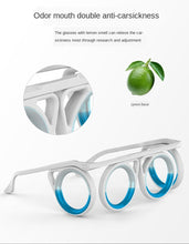 Load image into Gallery viewer, Travel Sports Ani-Motion Sickness Glasses Portable Detachable Foldable Features