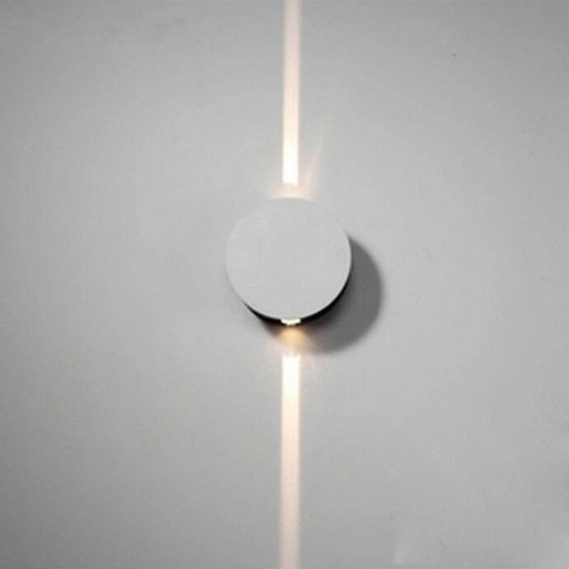 Decorative Modern wall lamps Round Indoor Light beam wall lights for living room bedroom
