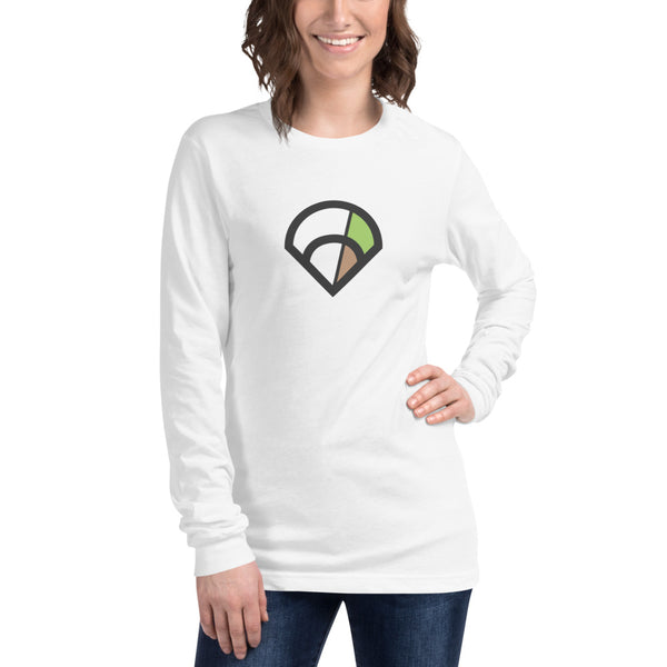 6-4-3 Diamond Long Sleeve (White)