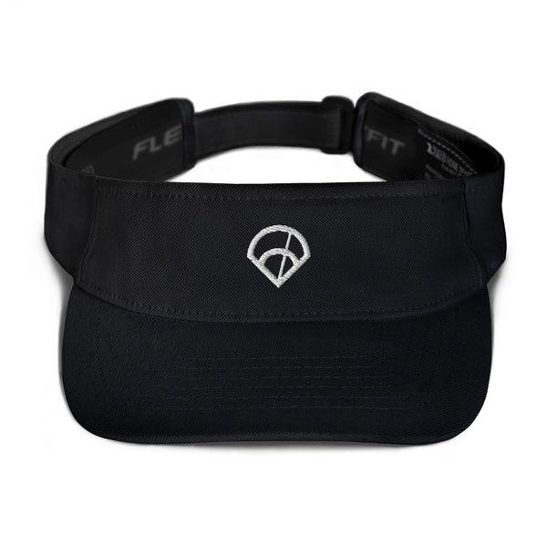 6-4-3 Diamond Visor (Black)