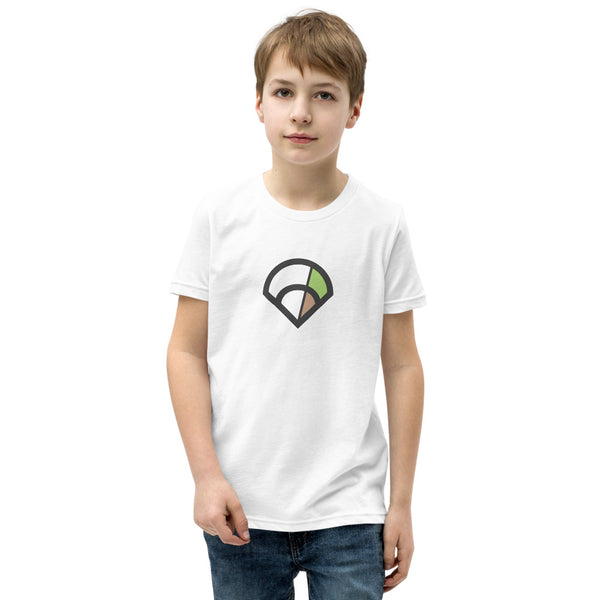 6-4-3 Diamond Youth T-Shirt (White)
