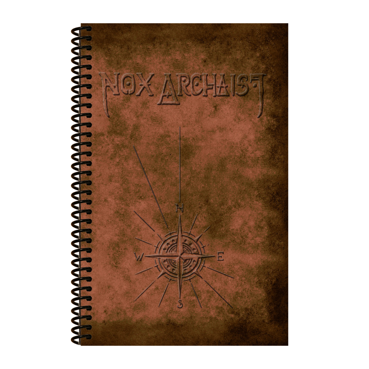 Nox Archaist Graph Paper Journal