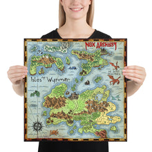 Load image into Gallery viewer, Isles of Wynmar Paper Map