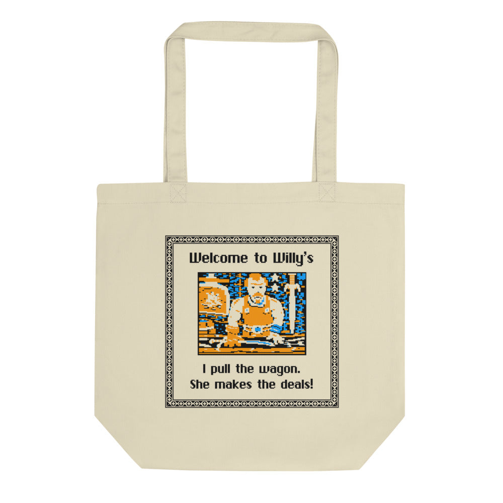 Welcome to Willy's Eco Tote Bag