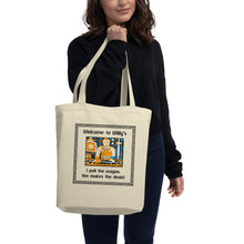 Load image into Gallery viewer, Welcome to Willy's Eco Tote Bag