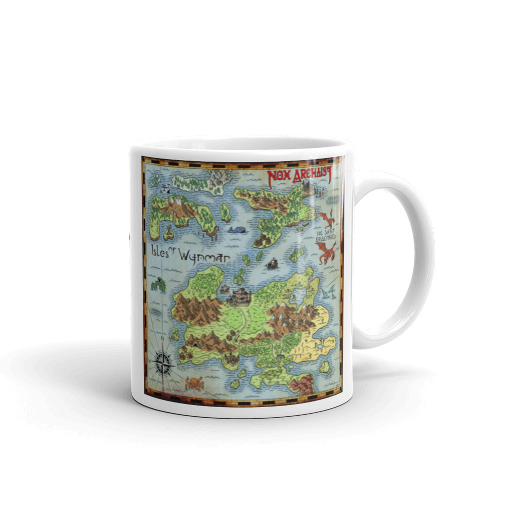 Isle of Wynmar Map Mug