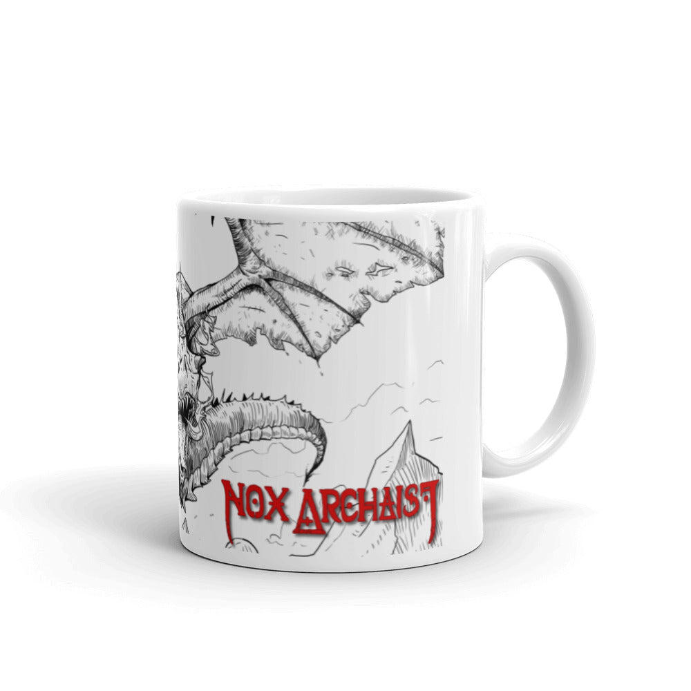 Thar Be Dragons Mug