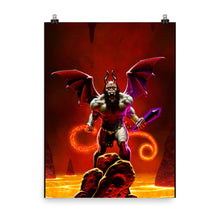 "Load image into Gallery viewer, ""Demon Lord"" by Denis Loubet - Poster Print"