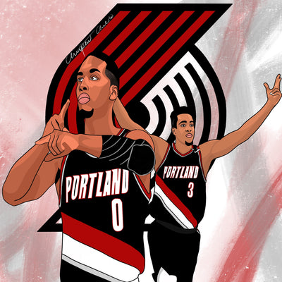 Portland Trailblazers | Perfect Timing - ShopChrisChilds