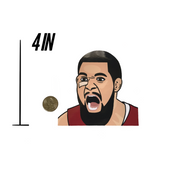 Fred VanVleet Sticker - ShopChrisChilds