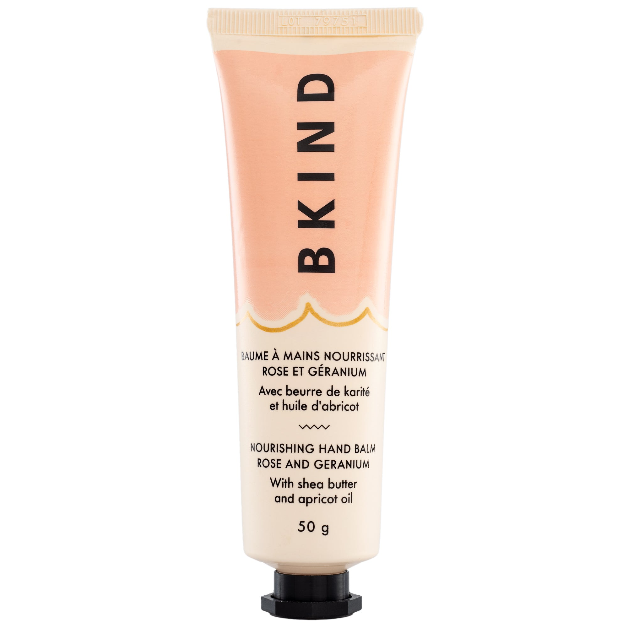 BKIND Nourishing Hand Balm Rose and Geranium