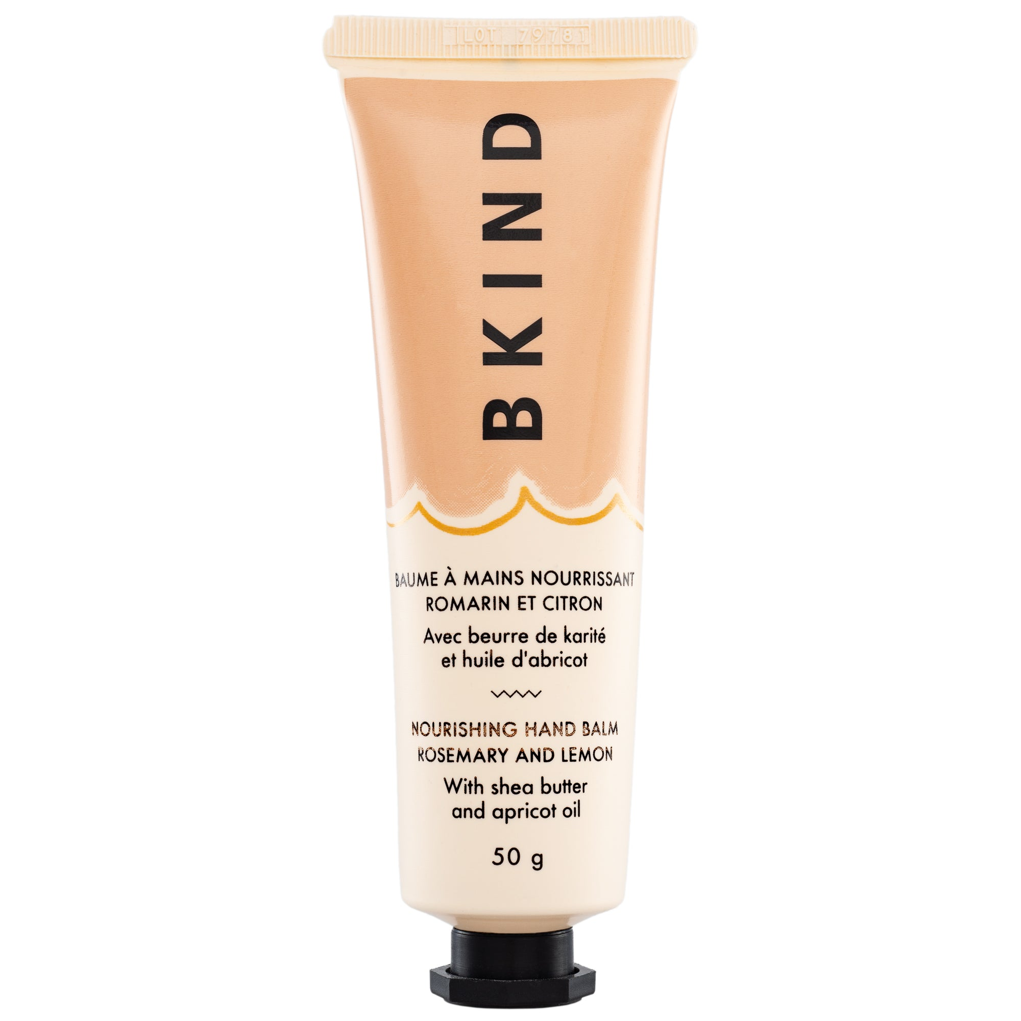 BKIND Nourishing Hand Balm Rosemary and Lemon