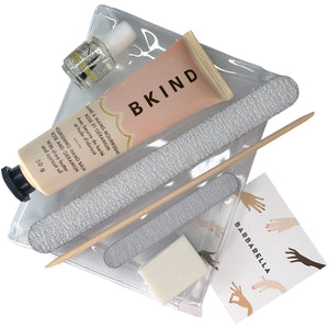 Nail Care Kit with BKIND Hand Balm and CND Cuticle Oil