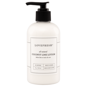 Lovefresh Coconut Lime Hand & Body Lotion