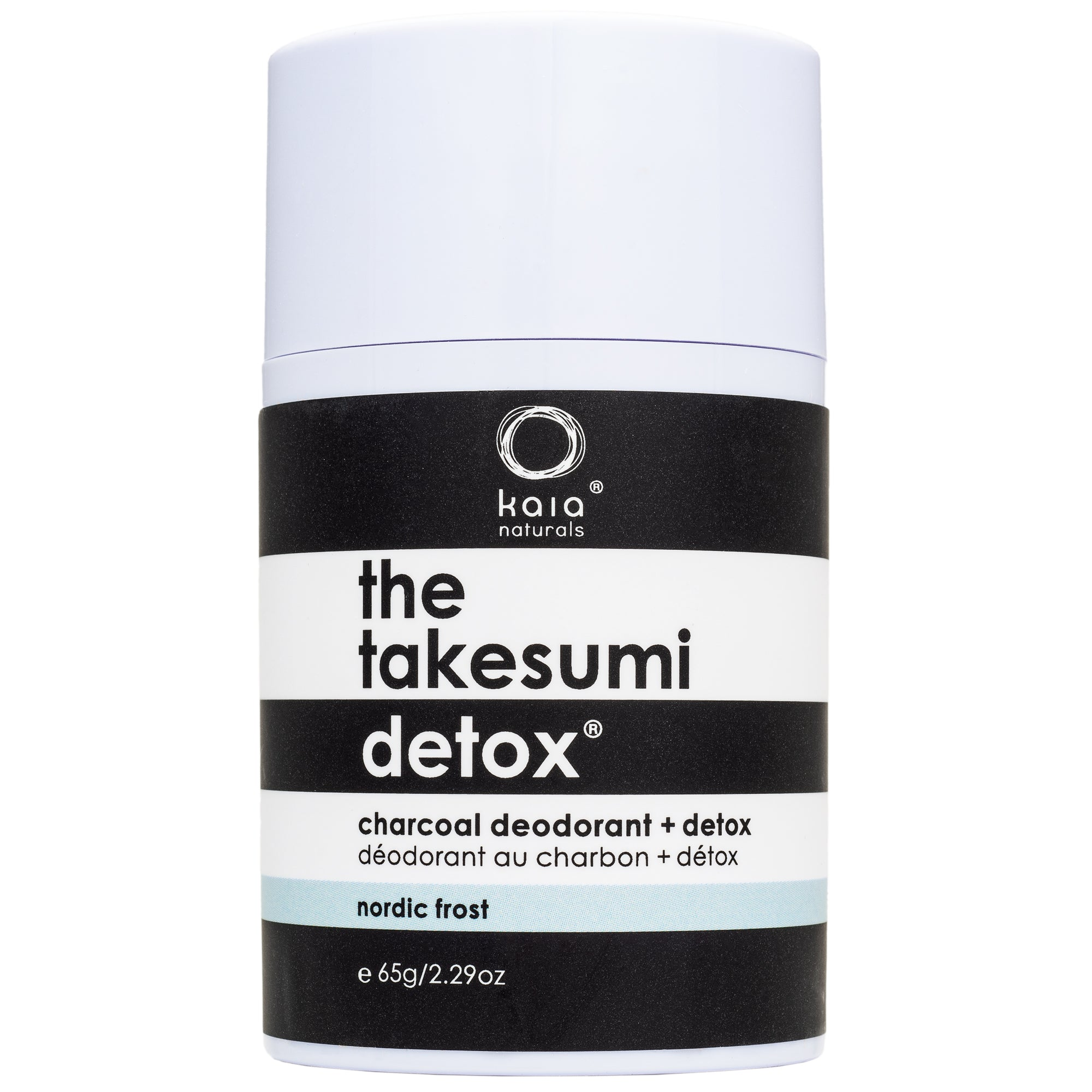 The Takesumi Detox Charcoal Deodorant and Detox Nordic Frost